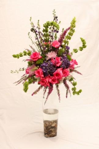 Purple & Pink Floral Arrangement