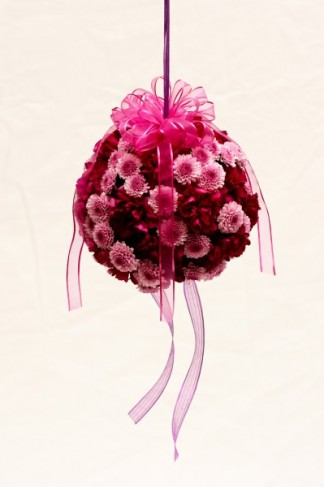 Flower Girl Kissing Ball