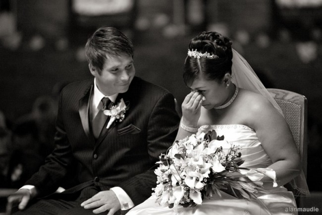 Beautiful Portrait Of Bride & Groom