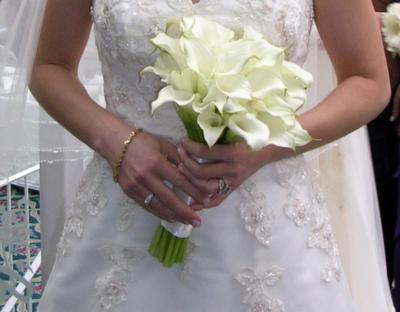 [Calla Lily Wedding Bouquet]