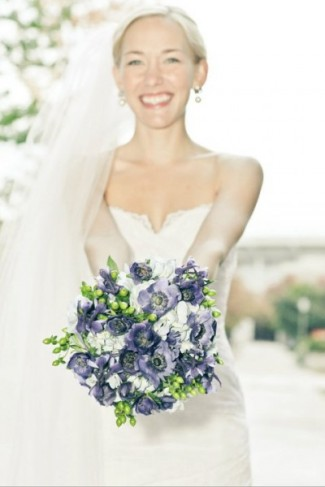 Navy Blue Wedding Bouquet Navy Blue Wedding Bouquet Share