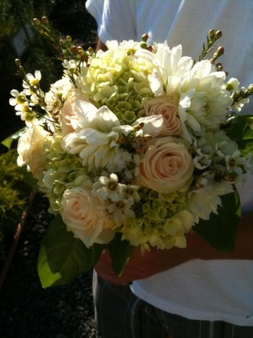 English Garden Bridal Bouquet