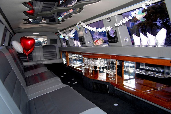 Great Inside Shot Of Limo