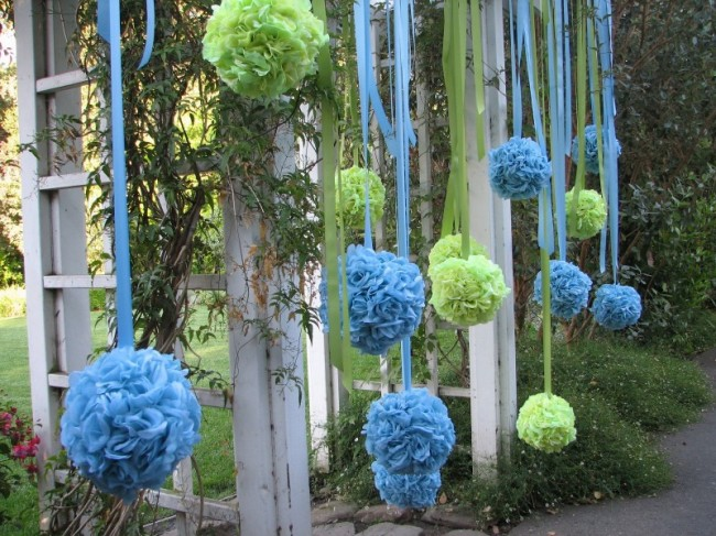 Photo Gallery Photo Of Blue Green Wedding Decorations