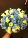 Blue Antique Bridal Bouquet
