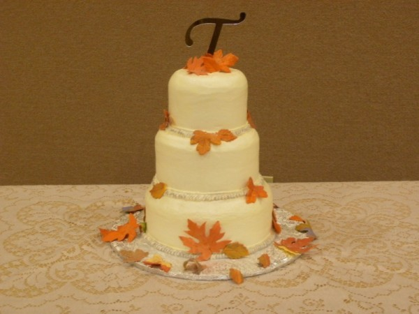 Orange Fall Wedding Cake Orange Fall Wedding Cake Share