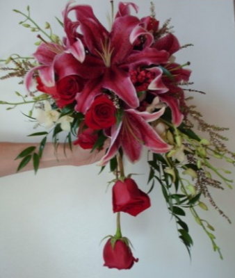 Stargazer Bridal Bouquet