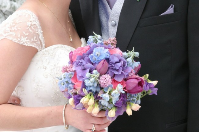 Beautiful Wedding Bouquet For Any Season