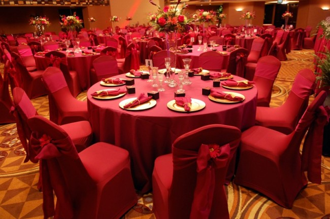 Gorgeous Red Wedding Reception Share