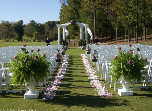 Wedding Ideas For Outside Ceremonies : Photo gallery of outdoor wedding ceremony