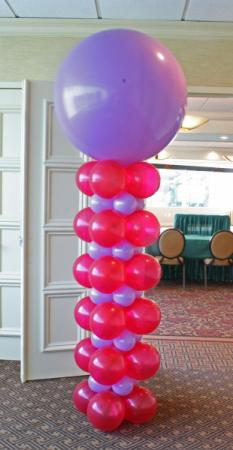 Square Pack Balloon Column