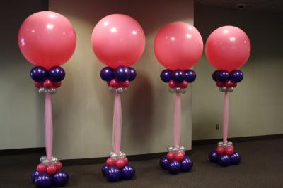 Giant Balloon Columns
