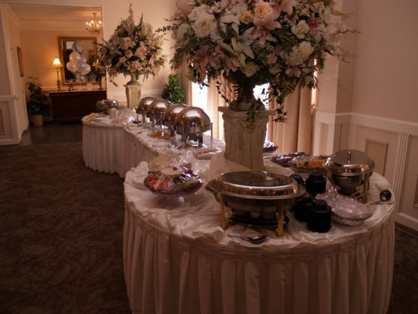 Photo Gallery Of Wedding Reception Buffet Table