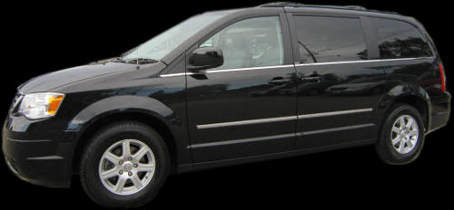 Chrysler Town and Country Shuttle Van