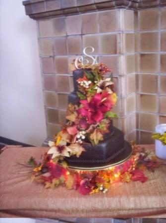 Fall Wedding Cake Share Along with a beautiful wedding venue