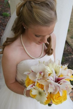Yellow & Cream Bridal Bouquet