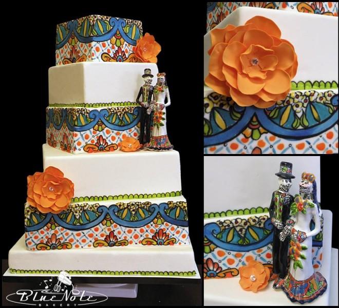 Dia De Los Muertos Wedding Theme Ideas: BLUE NOTE BAKERY INC.