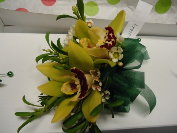 Beautiful Yellow Wedding Corsage
