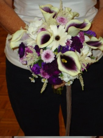 Beautiful Cascading Bridal Bouquet