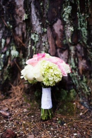 Pink & Ivory Bridal Bouquet