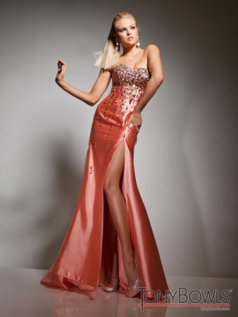 Prom Dress with Slit