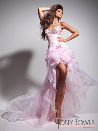 High Low Hem Prom Dress