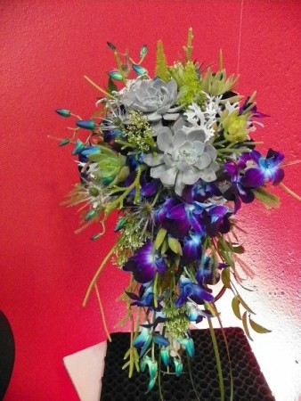 Under the Sea Themed Wedding Bouquet