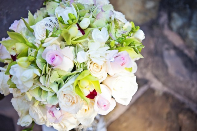 Gorgeous Pastel Bridal Bouquet