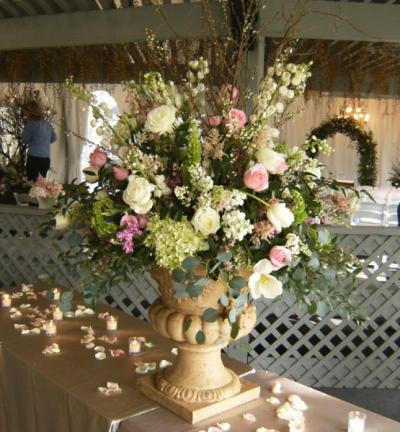 Floral Focal Point Centerpiece
