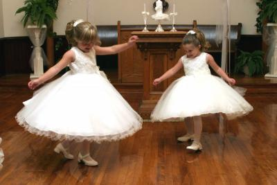 Spin Those Flower Girl Dresses!
