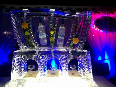 Martini Luge for Gala Events
