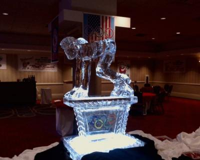 Olympics Theme Party Ice Sculpture