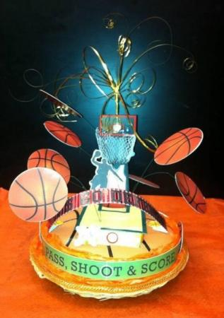 Basketball Centerpiece
