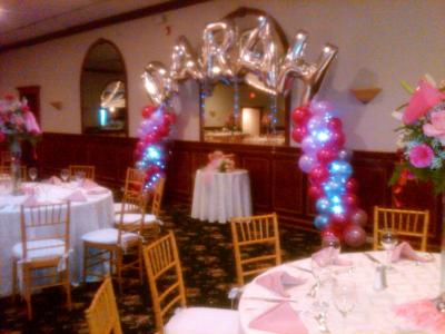 Cheerleader Theme Sweet 16 Party