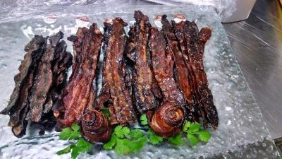 Delicious Candied Bacon