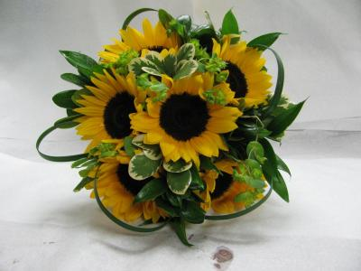 Lovley Sunflower Bouquet