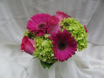 Hydrangeas and Gerberas