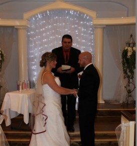 Saying I Do At The Ceremony