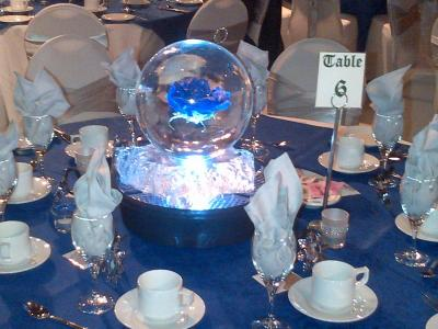 Ice Sculpture Centerpiece