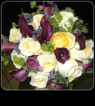 Yellow and Lavender Bouquet