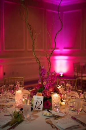 Deep Pink Arrangement and Decor