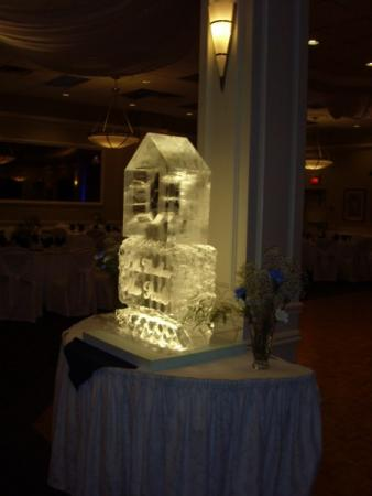 Tall Ice Sculpture