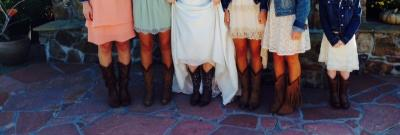 Cowgirl Boots in Wedding