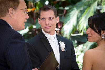 Groom in Wedding Ceremony