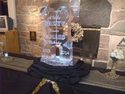 Gatsby Ice Sculpture
