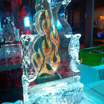 Fire Ice Sculpture