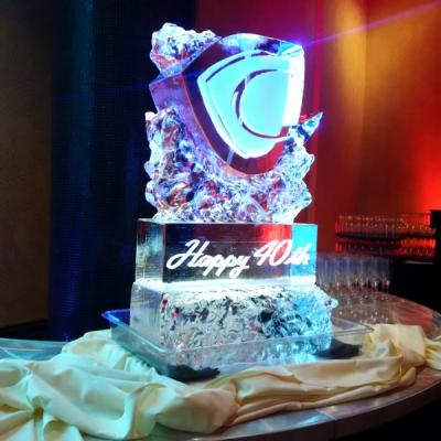 Birthday Ice Sculpture