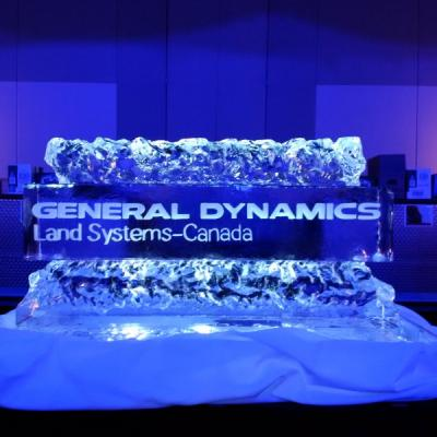 Corporate Ice Sculpture