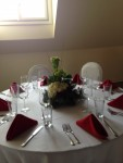 Table Setting and Centerpiece