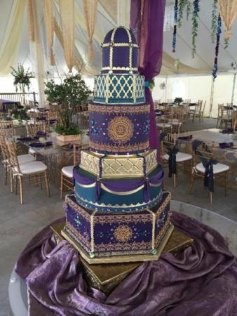 Over the Top Wedding Cake